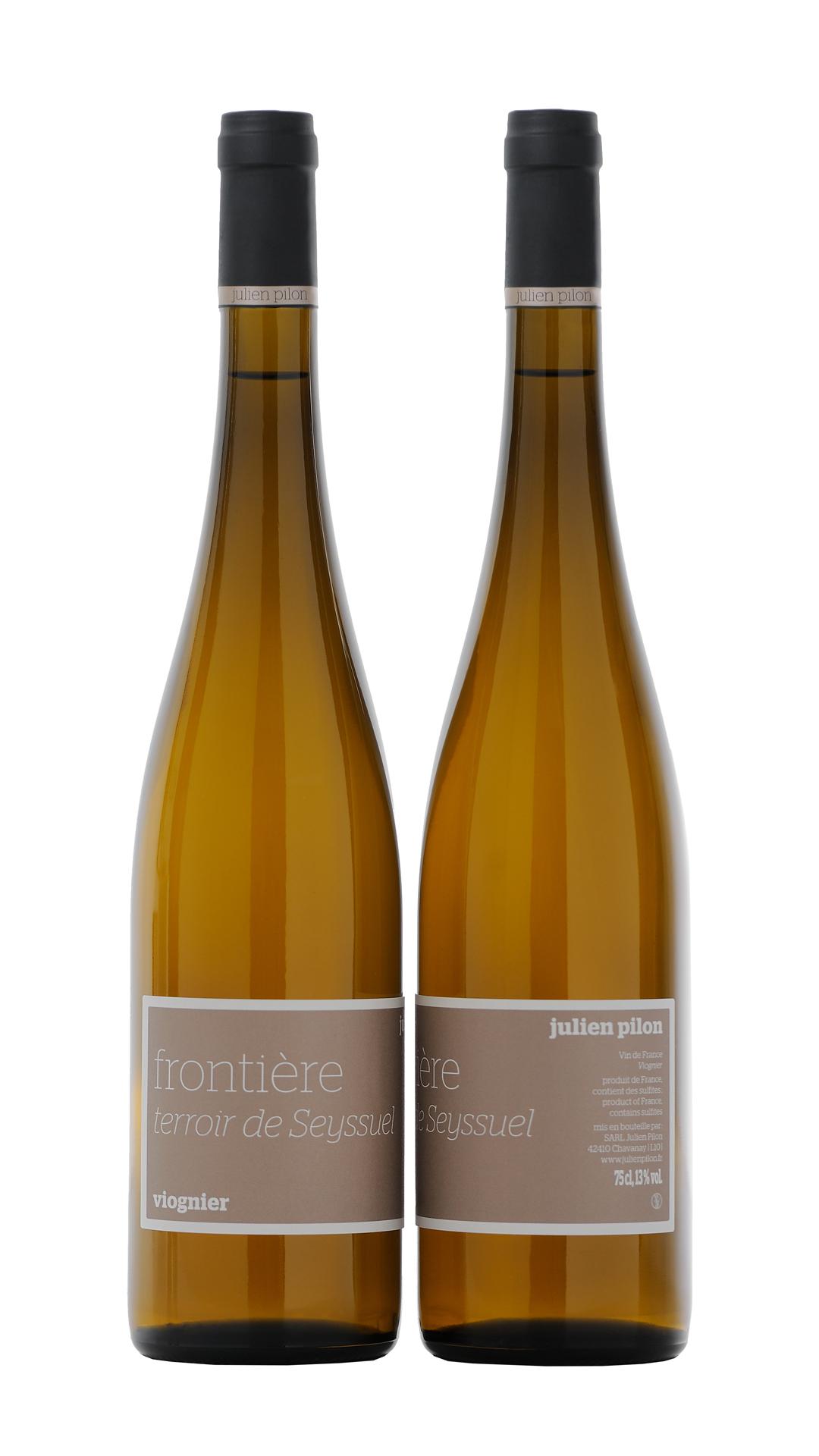 Cuvée Viognier Frontière vin de cépage blanc